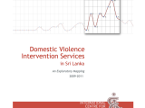 DAY SIX: Domestic Violence Intervention Services in Sri Lanka – An Exploratory Mapping by ICES